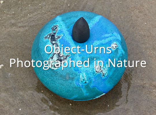 Handgemaakte Urn van Keramiek