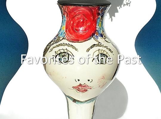 Hand beschilderde Keramische Decoratie